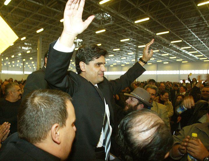 Politiker Farkas (Archivbild aus dem Jahr 2003)