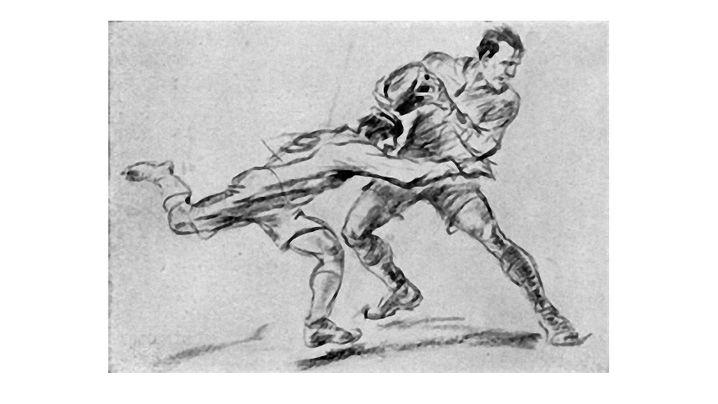 Kunst bei Olympia: Zeichnen statt Laufen