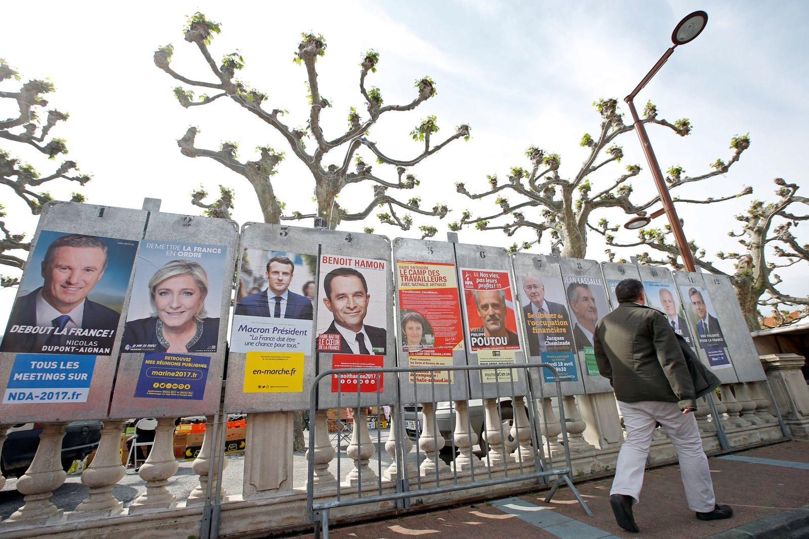 Frankreich / Wahl / Plakate