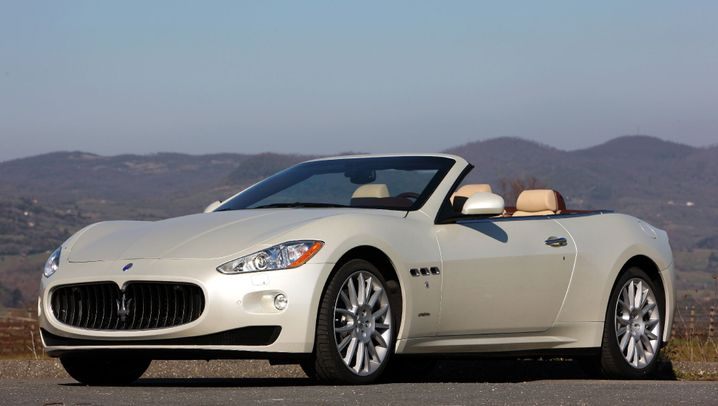 Maserati Gran Cabrio: EIn Hut aus Deutschland