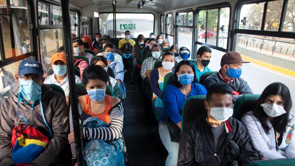 Öffentlicher Transport in Caracas: Die brasilianische Variante hat das Land im Griff