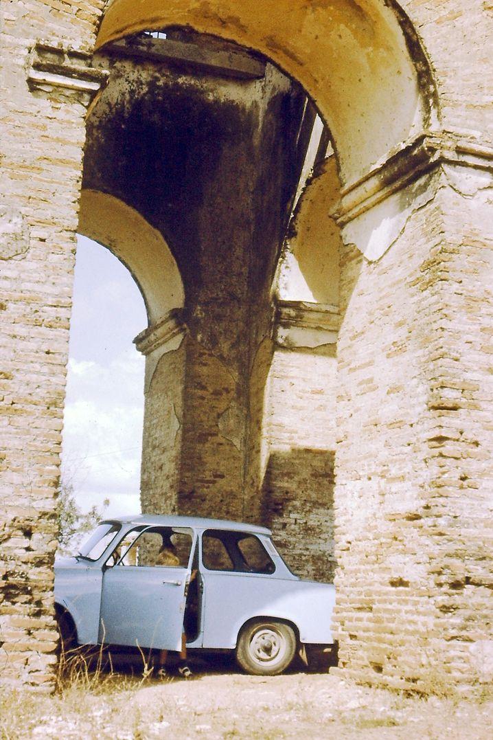 Schattenparker: am Torre Yznaga, 1986