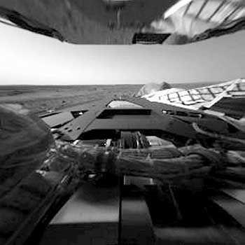 """Rover """"Spirit"""" auf Mars: Sporen als blinde Passagiere an Bord?"""