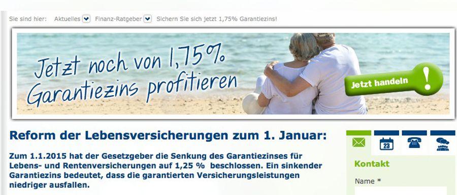 EINMALIGE VERWENDUNG steyler-bank.de/ screenshot