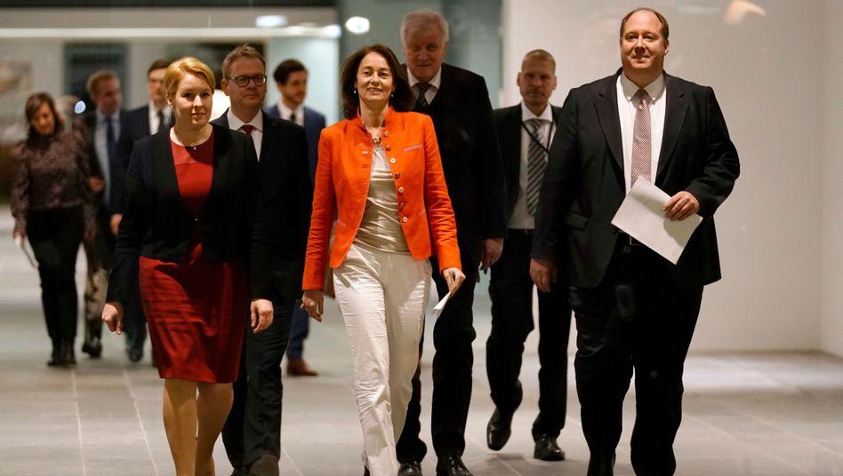 Die zuständigen Minister