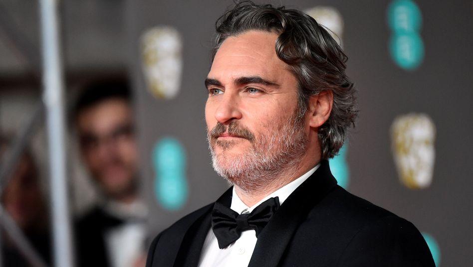 """Joaquin Phoenix bei der Bafta-Verleihung: """"Ich fühle mich zerrissen"""""""