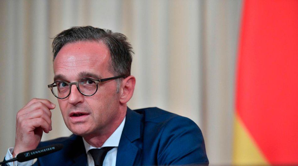 """Außenminister Heiko Maas: """"Klimapolitik von zentraler Bedeutung"""""""