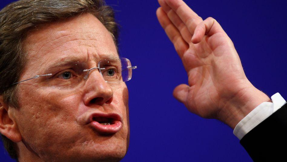 """FDP-Chef Westerwelle: """"Von George W. Bush lernen, heißt Steuern senken lernen"""""""