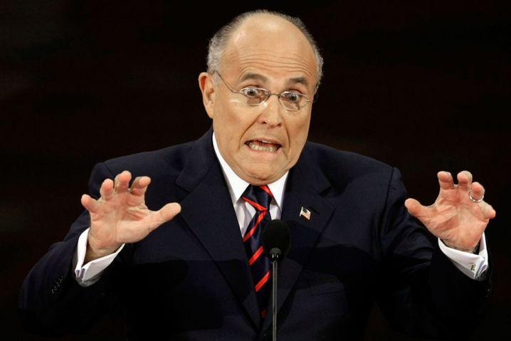 "Rudy Giuliani: ""Bullshit""-Ermittlungen in New York"