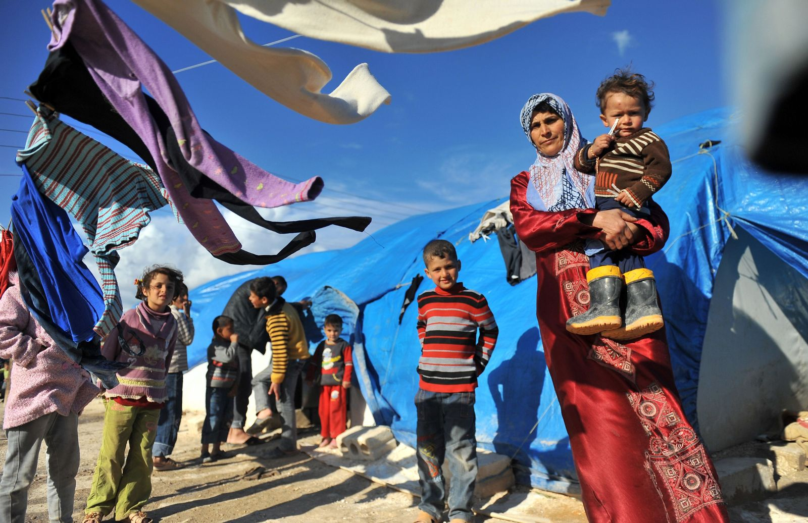Syrien / Kindheit