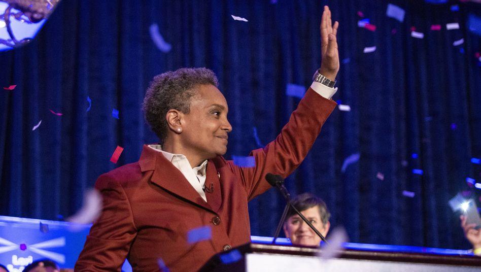 Lori Lightfoot: Chicagos neue - und erste schwarze, lesbische - Bürgermeisterin