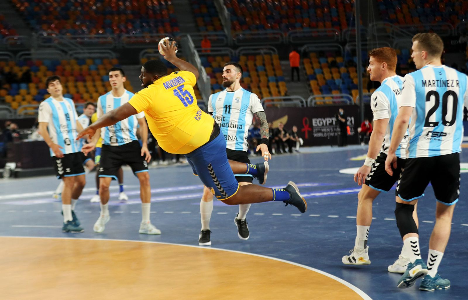 Men Handball World Championship 2021, Cairo, Egypt - 15 Jan 2021