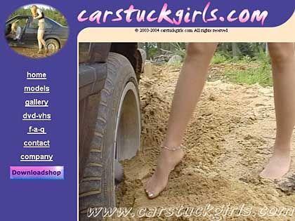 Grundzutaten einer Kult-Webseite: Beine, Reifen, Sand oder Schlamm