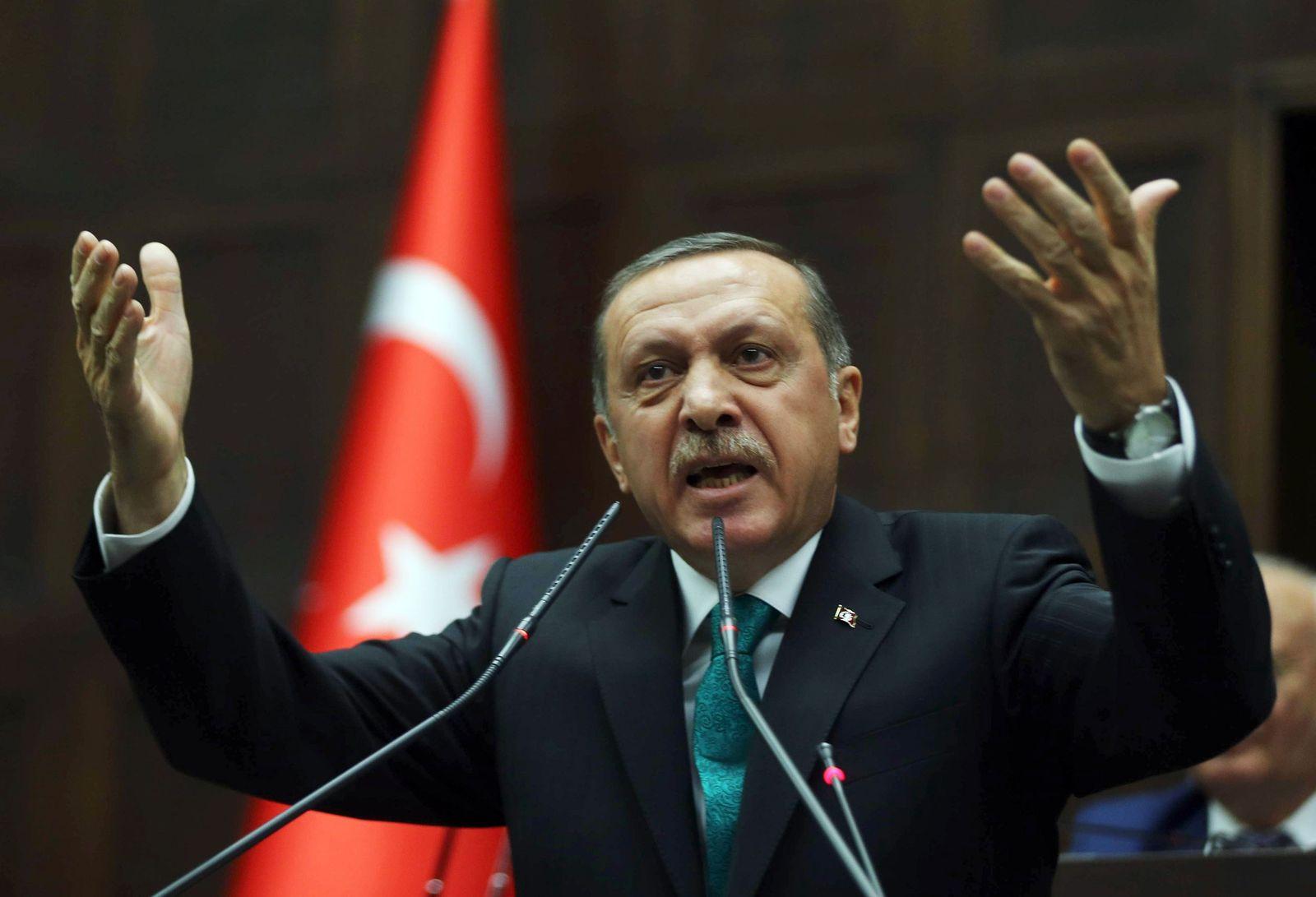 erdogan hände hoch