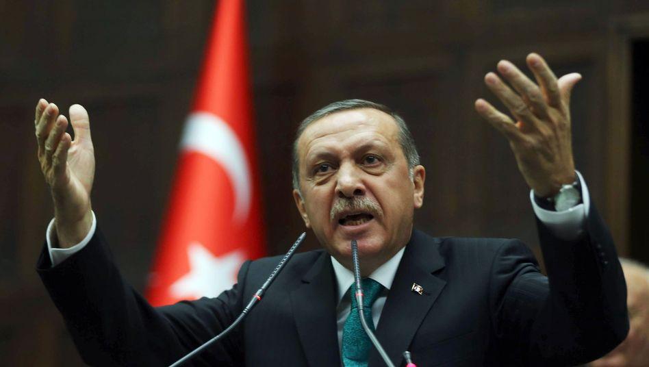 Türkischer Premier Erdogan: Konkrete Vorwürfe gegen Minister