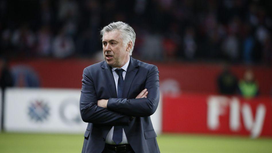 Trainer Ancelotti: Bald in Madrid?