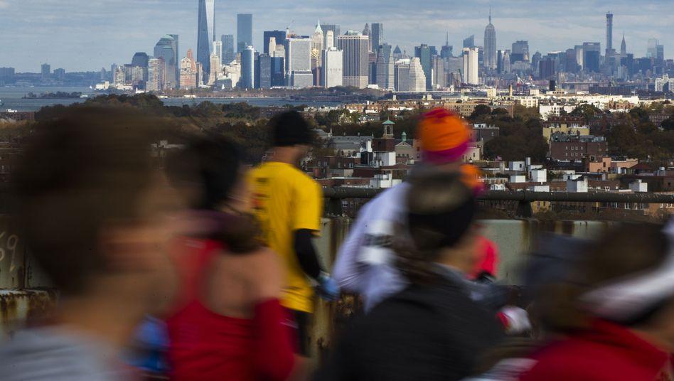 """New-York-Marathon (Archivbild 2014): """"Ein unglaublich tolles Erlebnis"""""""