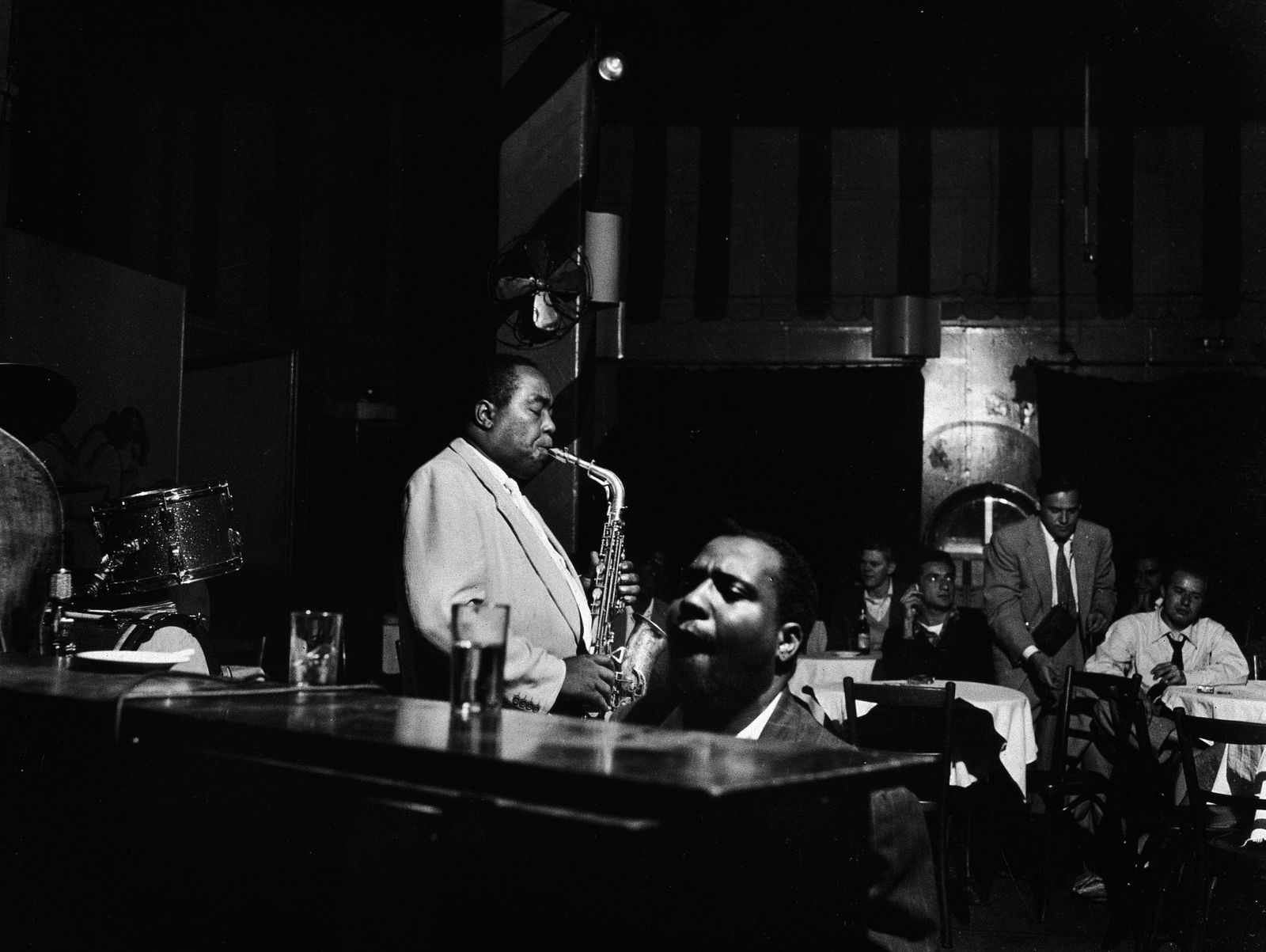 Charlie Parker and Thelonious Monk