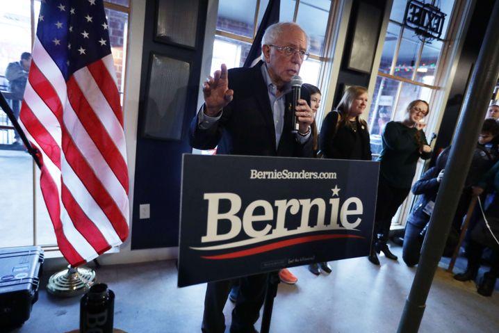 """""""Der Anfang vom Ende"""": Bernie Sanders feuert seine Fans in Des Moines an"""