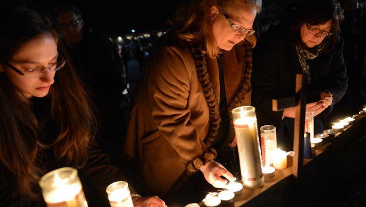 Gottesdienst: Trauer um die Opfer von Newtown