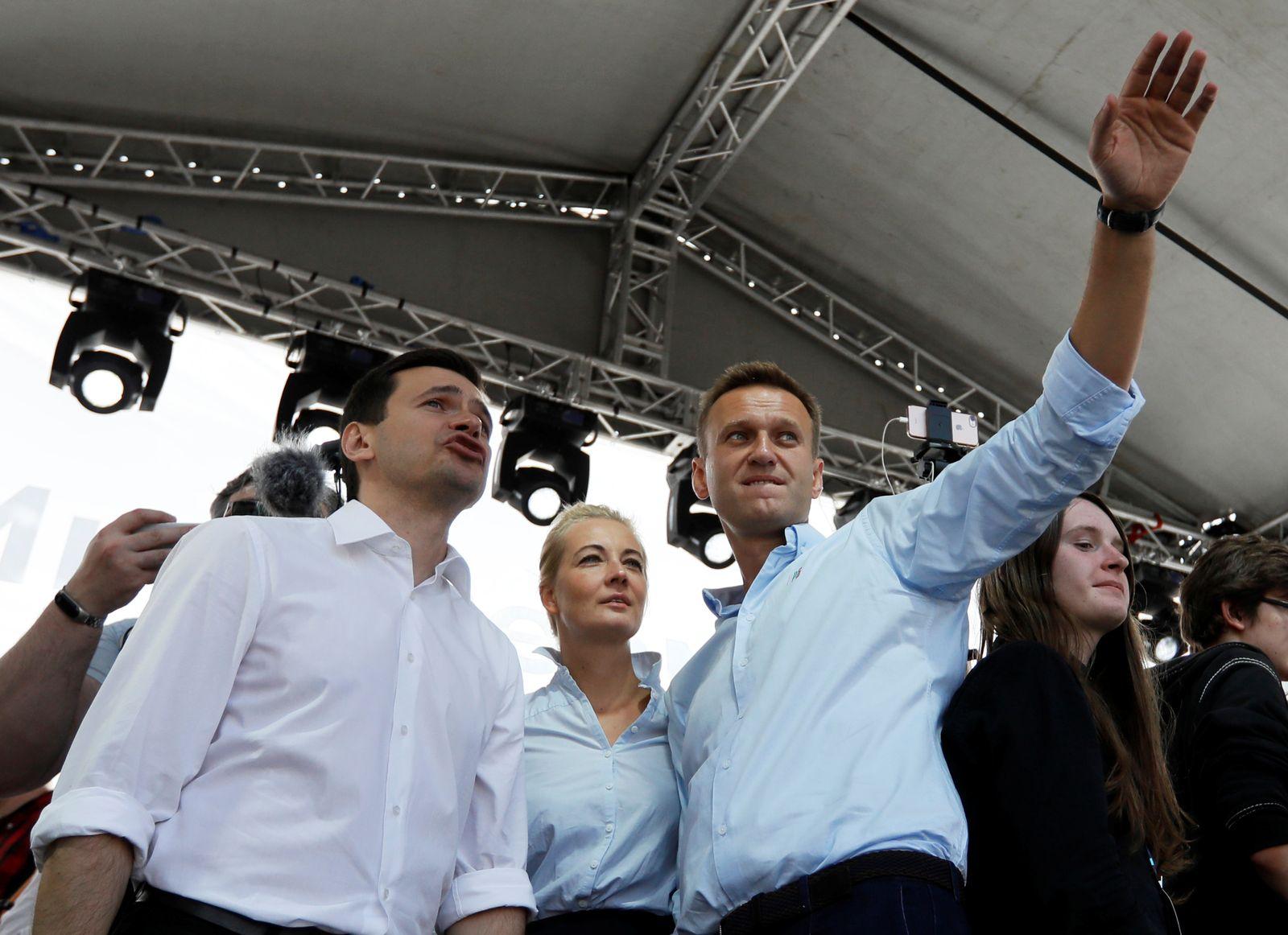 Ilya Yashin/ Russland/ Opposition/ Nawalny