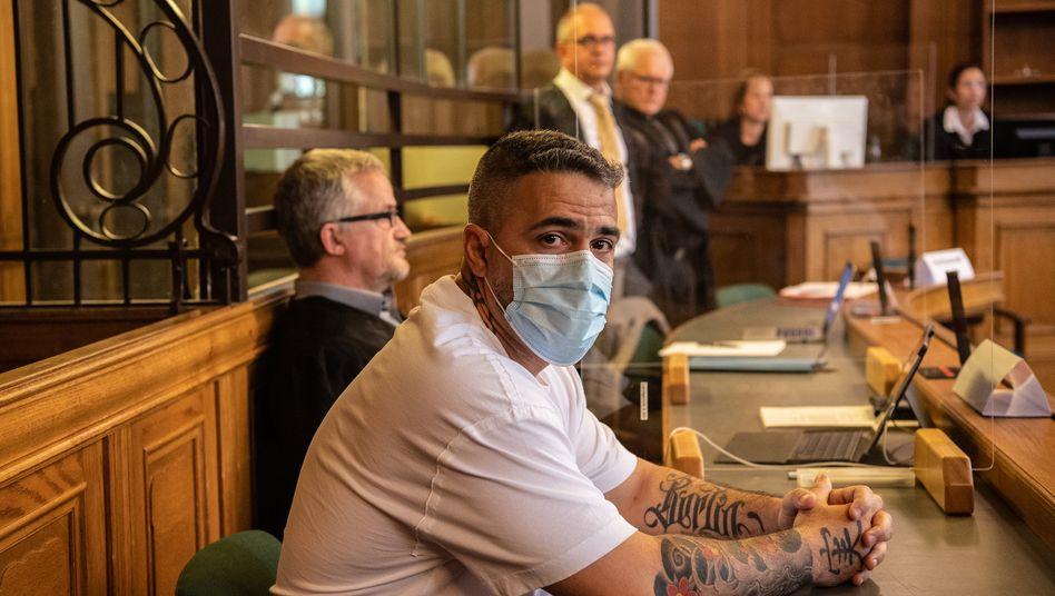 Rapper Bushido im Landgericht Berlin (im August 2020): Dem Clan ausgeliefert