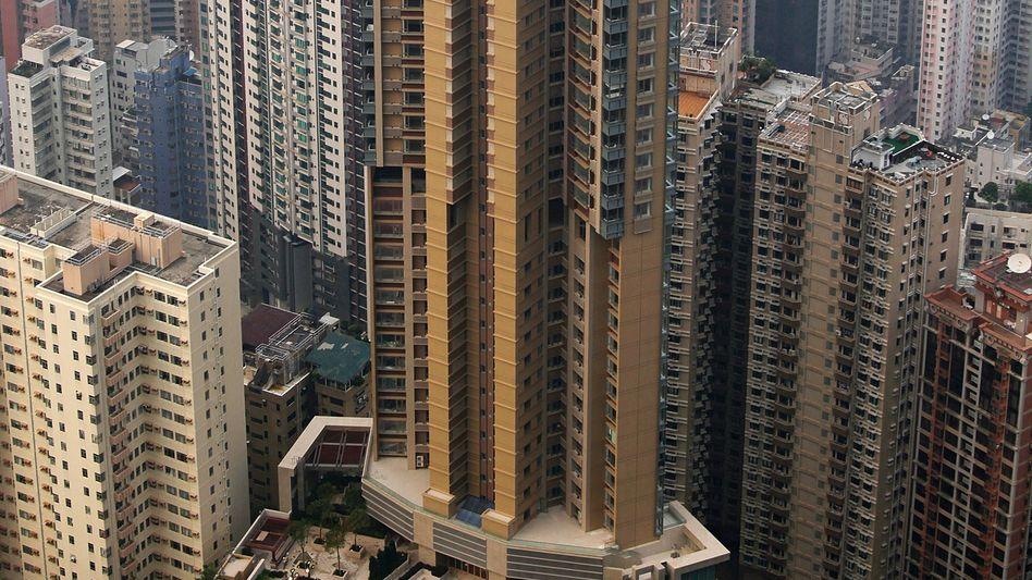 Luxus-Residenz in Hongkong: Hier wuchs die Zahl der Millionäre um ein Drittel