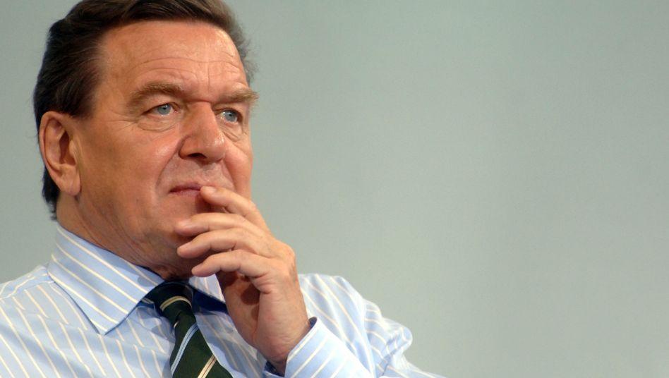 Bundeskanzler Schröder im Jahr 2005: Zweifelhafter Besuch aus Russland