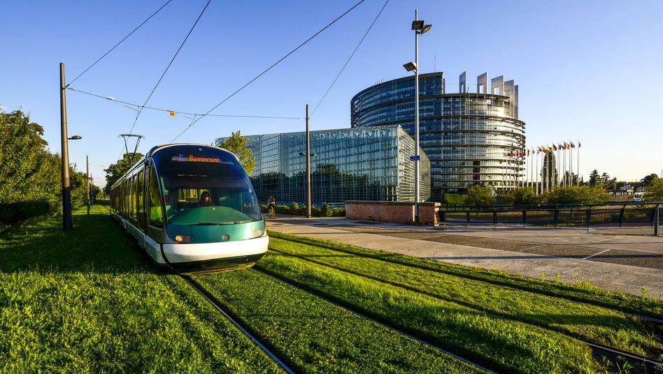 Gilt als Erfolgsmodell: Die Straßburger Straßenbahn