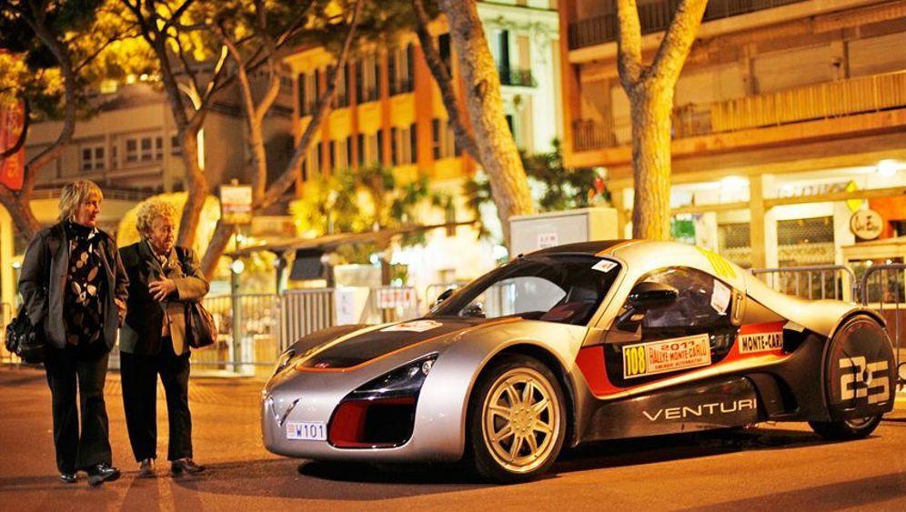 Alternative Rallye Monte Carlo: Sauber rasen