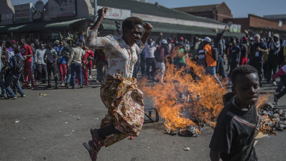 Protest in Simbabwe