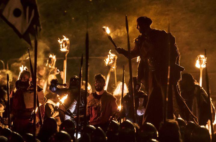 Wikingerfest in York, England: Martialische, marodierende Männer-Meute?