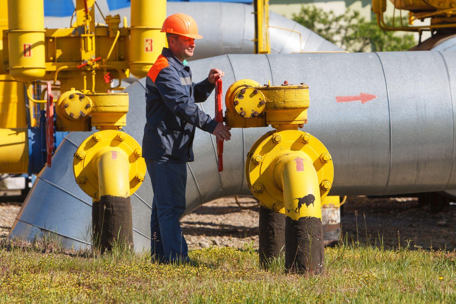 Gas-Pipeline / Ukraine / Gaz Station