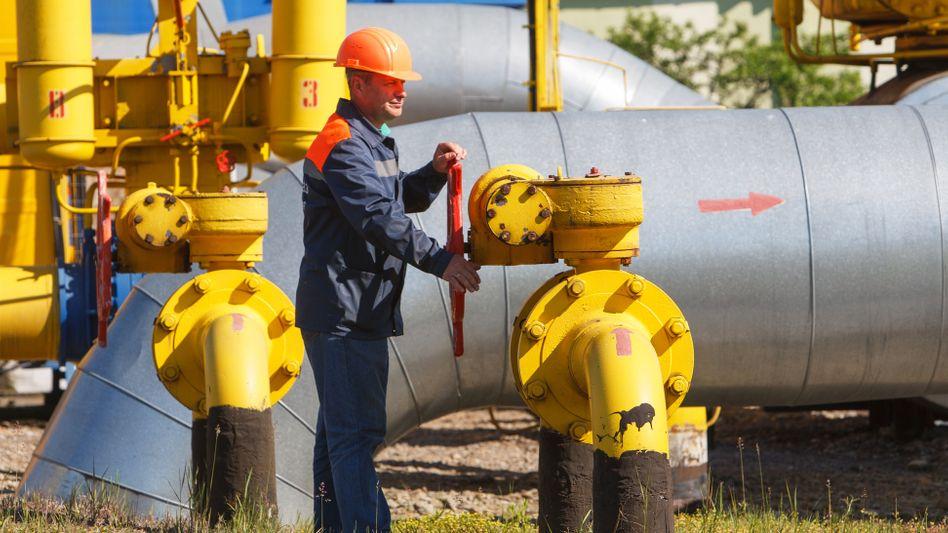 Gaspipeline in der Ukraine