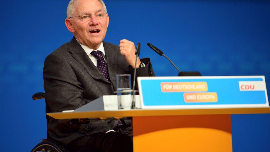 """Schäuble: """"Alles dafür tun, dass keine rechtspopulistische Partei in den Bundestag einzieht"""""""