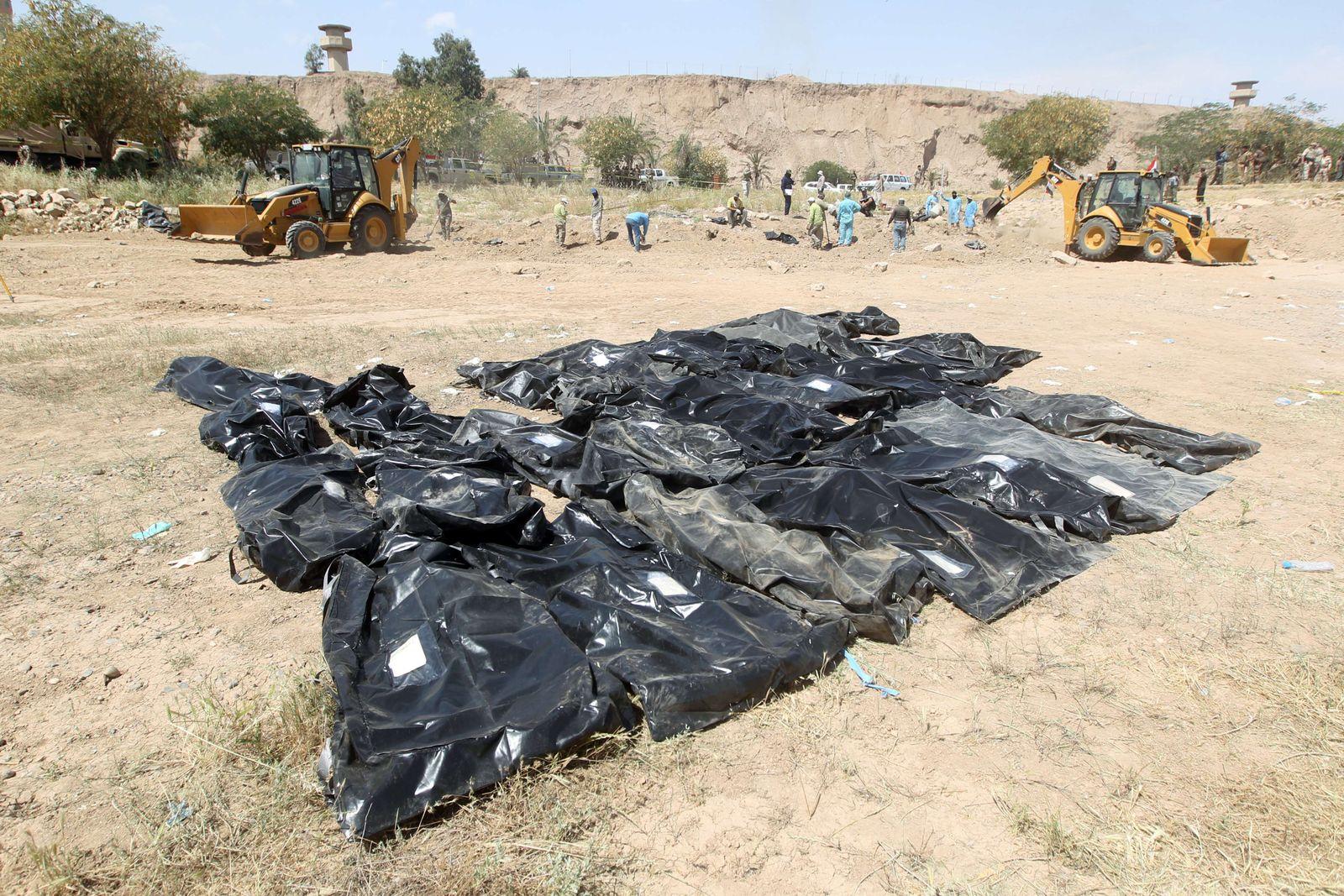 Camp Speicher/Massaker/Tikrit/Irak
