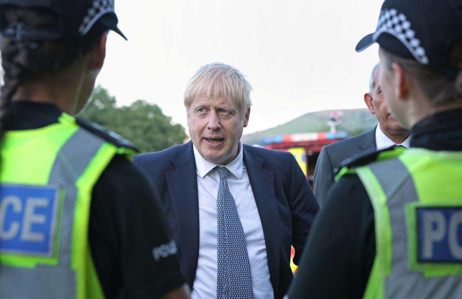 Boris Johnson/ Polizei