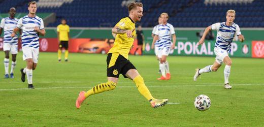 DFB-Pokal: Marco Reus trifft nach drei Sekunden für Borussia Dortmund