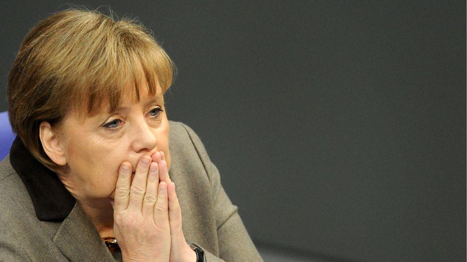 Kanzlerin Merkel: Ohne Westerwelle wäre das Leben leichter