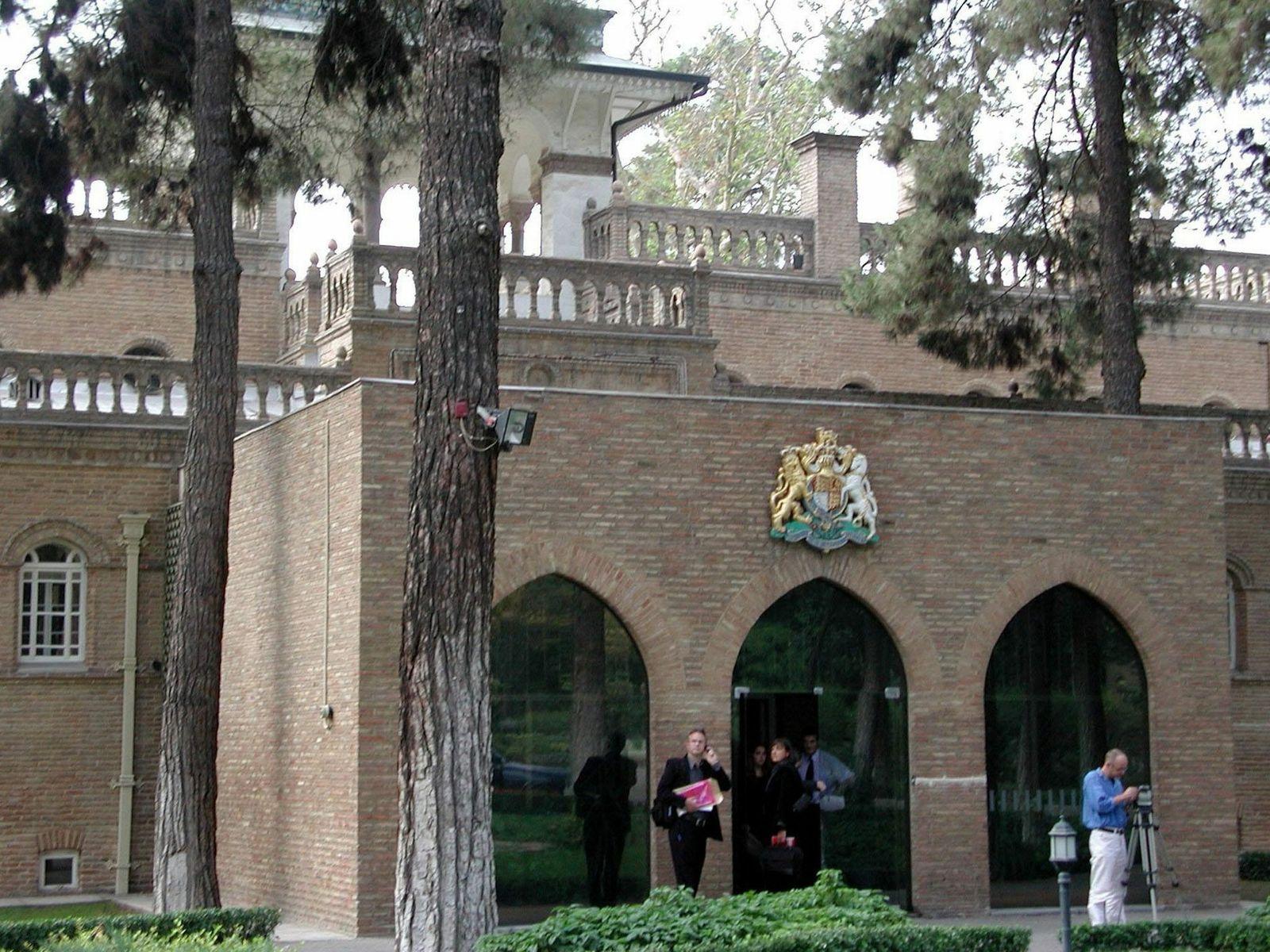 Britische Botschaft / Teheran
