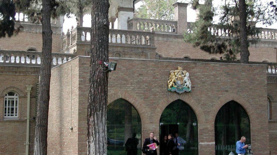 Die britische Botschaft in Teheran: Nach zweieinhalb Jahren wird sie wieder geöffnet