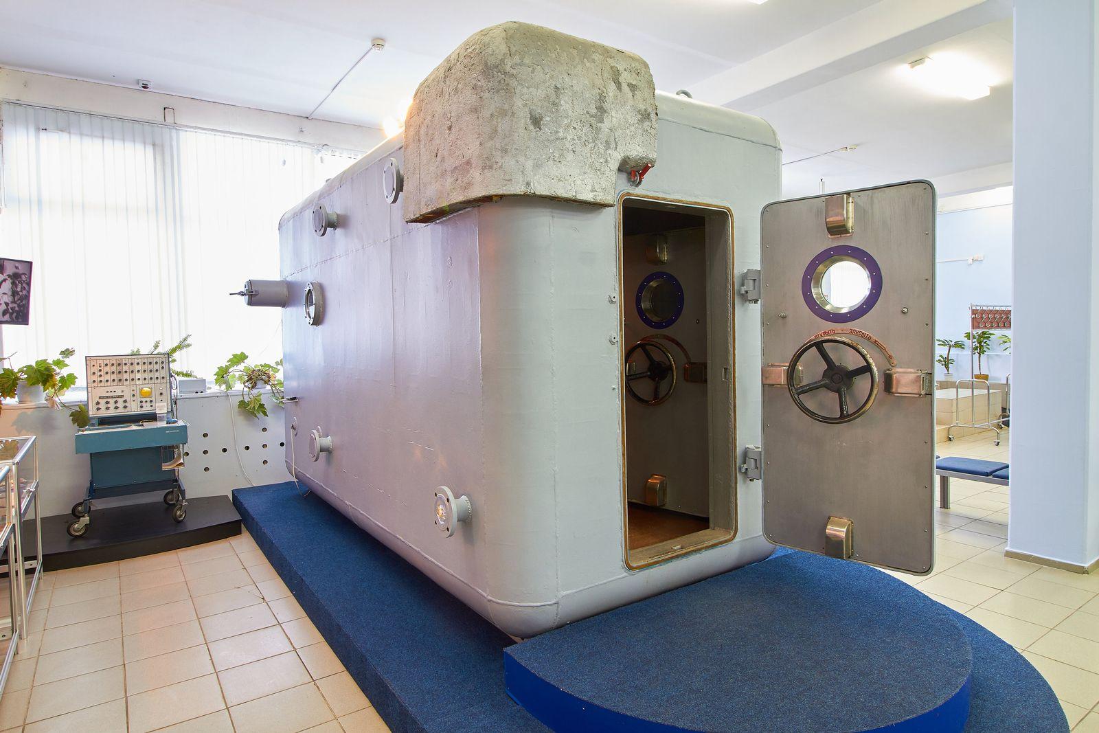 Russische Druckkammer SBK-48