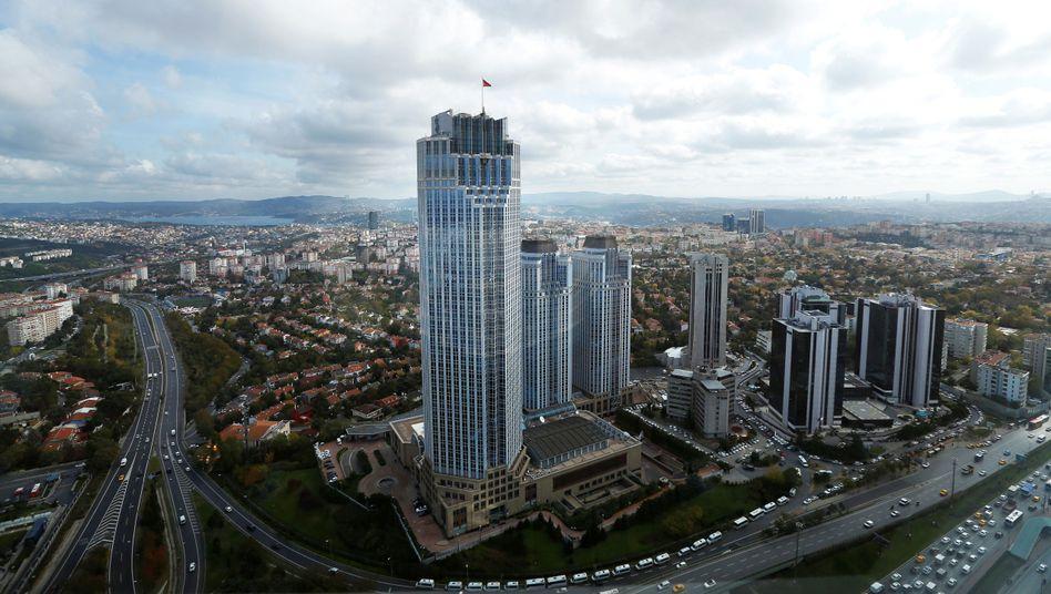 Bankenviertel in Istanbul