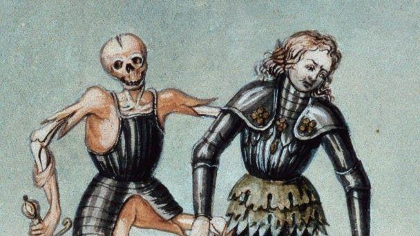 """Im Jahr 1806 entstandene """"Totentanz""""-Darstellung"""