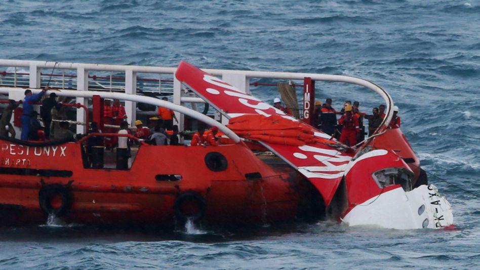 Wrack der Air-Asia-Maschine: Steigflug kurz vor dem Absturz