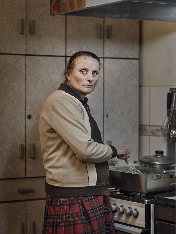 Küchen-Mitarbeiterin: Täglich deutsche Gerichte