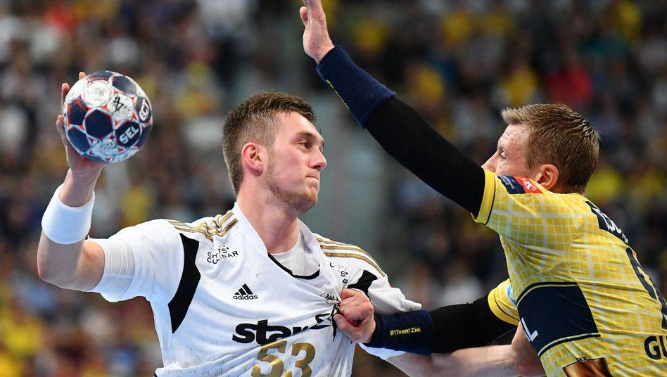 Handballkrimi THW Kiel gegen Rhein-Neckar Löwen