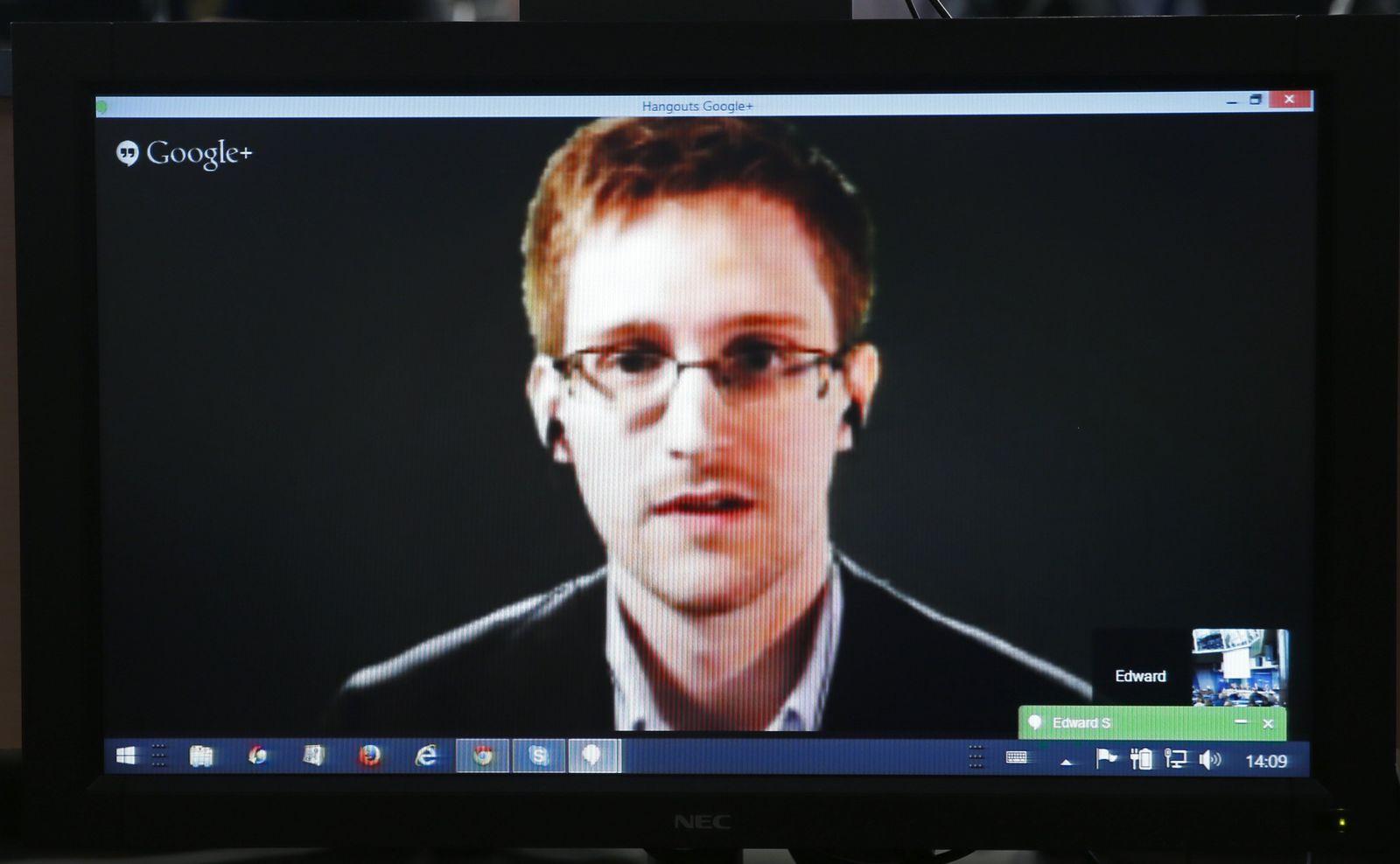 Edward Snowden Europarat