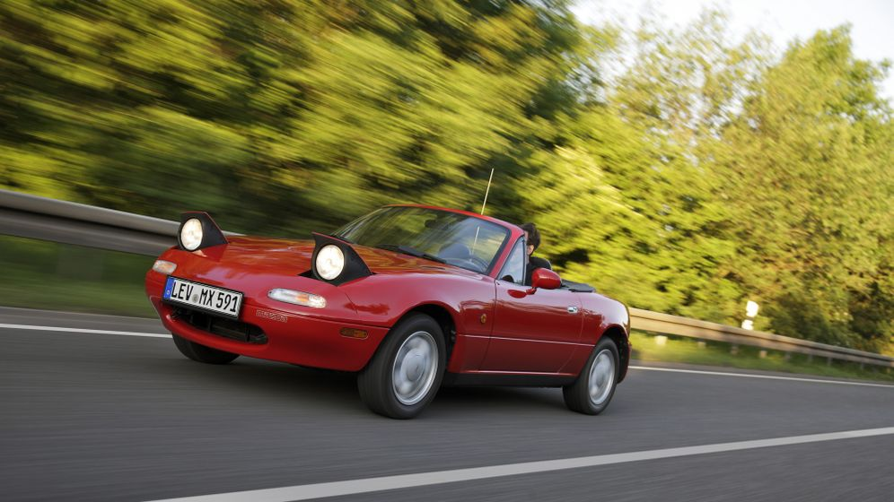 25 Jahre Mazda MX-5: Das Comeback der Offenheit