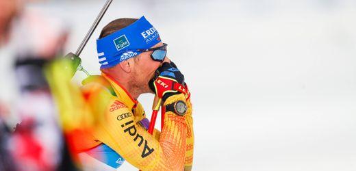 Biathlon: Erik Lessers zweiter Coup in Kontiolahti scheitert am letzten Schuss